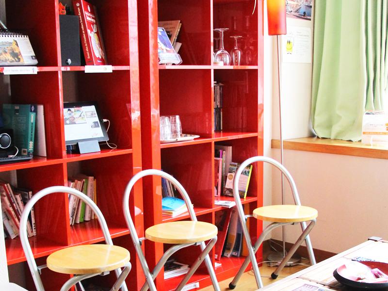 フランス語会話学校エコールサンパ自由ヶ丘教室サロン