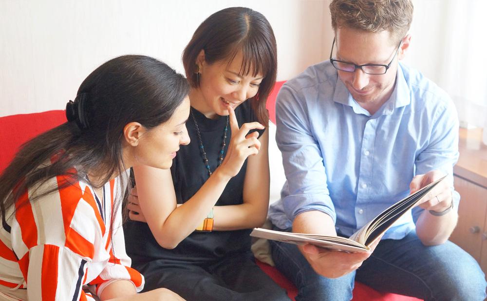 フランス語会話学校エコールサンパ 阿佐ヶ谷教室サロン